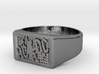 Size 8 TNT Ring  3d printed