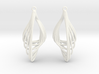Liquid Tension* Earring 3d printed