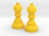 Pair Bishop Chess Big | Timur Picket Taliah 3d printed