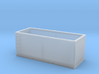 N scale 1/160 Tie or Dirt Railroad Container (sing 3d printed