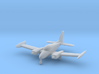 Cessna 310 - 1:144 scale 3d printed