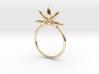 Flower Stacking Ring 3d printed