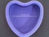 "Candy Heart ""Nixon's not a crook!"" - Purple/Blue 3d printed Back"