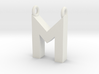 Alphabet (M) 3d printed Collection: Alphabet