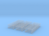 BDHO-0001 CityRail Bridge Fencing-HO (30 Count) 3d printed