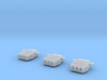 1/700 HMS Lion 1939 Battleship 16 inch Turrets 3d printed