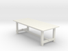 8' Rustic Farm Table 1:48 3d printed