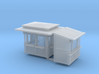 N Scale (1:160) Newsstands and Shoe Shine Stand 3d printed