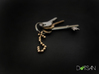 Scorpio Star Constellation Keychain Keyring 3d printed