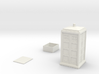 Miniature T.A.R.D.I.S. / Accessory Compartments   3d printed