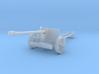 1/200 scale Pak40 german anti tank gun WW2 3d printed