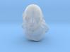 Barbarian bust 3d printed