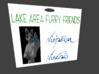 LAFF Badge 3d printed 3D Blender Render