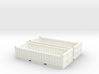 N Scale 20ft Open Top Container Half Height (2pc W 3d printed
