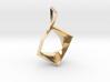 Cube Blossom Pendant 3d printed