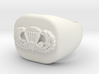 Basic Parachutist Badge Ring 3d printed