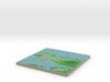 Terrafab generated model Wed Jun 17 2015 16:51:14  3d printed