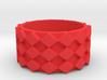Futuristic Diamond Ring Size 6 3d printed