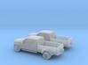1/160 2X 2014 Ford F450 Lariat Super Duty King Ran 3d printed