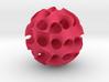 Schwartz 'D' Sphere, 8 cell 3d printed