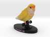 Custom Bird Figurine - Charlie 3d printed