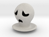 Halloween Character Hollowed Figurine: Sad Ghosty 3d printed