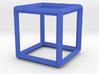 Cube(Leonardo-style model) 3d printed