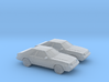 1/160 2X 1986 Ford Mustang GT 3d printed