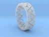 Triforce Ring Size 11 3d printed