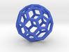 Truncated Icosahedron(Leonardo-style model) 3d printed