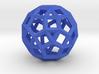 Rhombicosidodecahedron(Leonardo-style model) 3d printed
