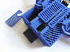 ButterPi Case 3d printed The ribbon cable hatch.