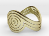 Concentric Ring Size 6 3d printed