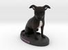 Custom Dog Figurine - Watson 3d printed