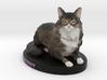 Custom Cat Figurine - Denny 3d printed
