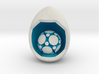 LuminOrb 1.8 - MINDFULNESS 3d printed Shapeways render of MINDFULNESS on a matching color Egg Display Stand (optional)