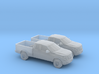 1/160 2X 2010 Ford F-150 3d printed