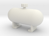 Fake fuel tank ''Rounded'' 3d printed