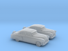 1/160 2X 1951 Pontiac Chieftan Sedan 3d printed