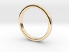 Ring for Ed - Size 12 (3mm wide, 2mm Thick) 3d printed