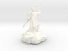 Halfling Ninja With Staff 3d printed