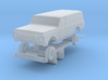 1969 - 1971 HO Scale Chevy Panel Truck with interi 3d printed