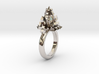 Crystal Ring 9.5 3d printed