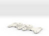 Tall Bolster for Walthers LW 3 axle truck 3d printed